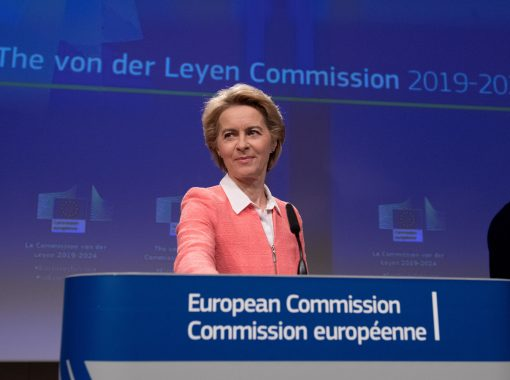 Press conference of Ursula von der Leyen, President-elect of the EC